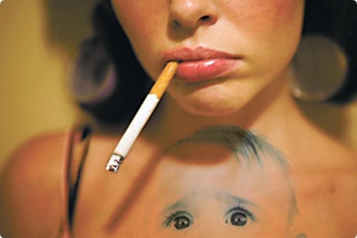 Вредные привычки негативно влияют на деторождение