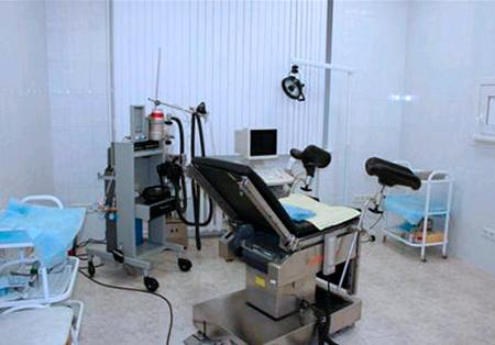 Операционный блок в клиники