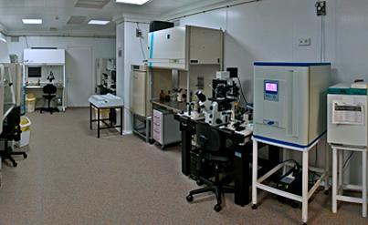 Лабаратория для проведения манипуляций клиники