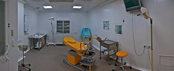 Операционный блок клиники