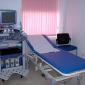 Палата осмотра пациента в клинике