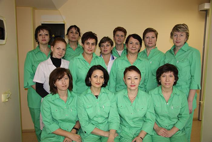 Специалисты в клинике