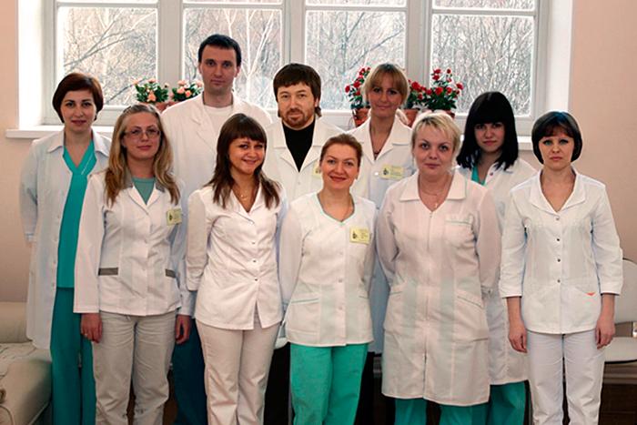 Врачи Мариинской городской больницы