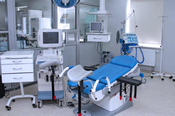 Оперблок в клинике Дахно