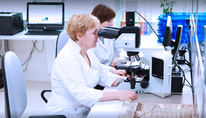 Современная лаборатория в клинике