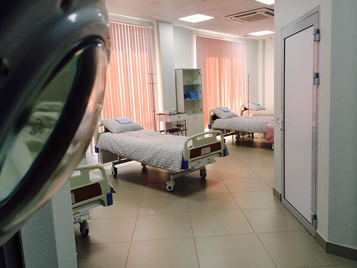 Общие палаты для пациентов в клинике
