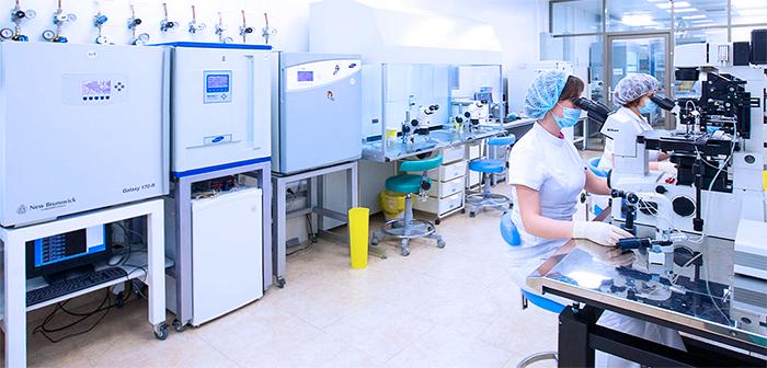 Лаборатория в клинике с новейшим оборудованием и специалистами высокого класса