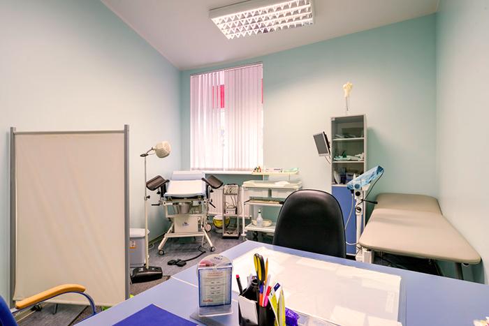 Кабинет обследования в отделение репродуктологии