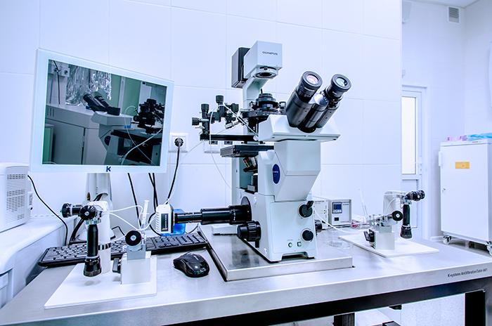 Проведения иследований в лаборатории на современной аппартуре