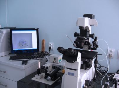 Аппаратура для работы с эмбрионами и мужским материалом