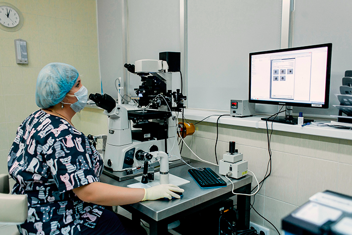 Лаборатория в клинике Oxy