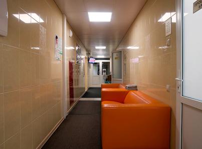 Хол в клинике