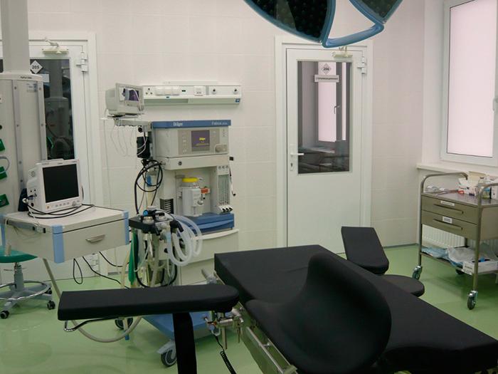 Опер блок в клинике Гармония