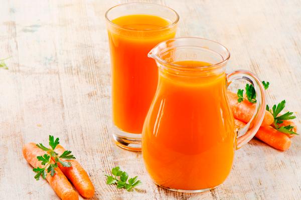 Морковный сок для восстановления организма после неудачного ЭКО