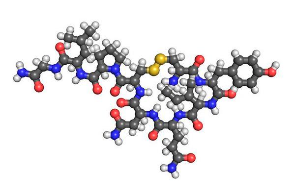 Химическая структурная формула Окситоцина