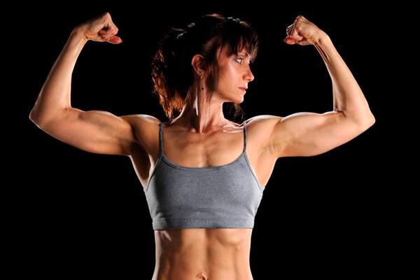 Появление мышц у женщин при повышенном уровне андростендиона