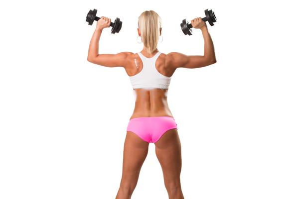 Рост мышц у девушек под воздействием андрогенов