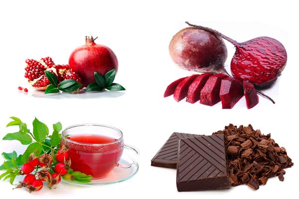 Правильное питание для повышения уровня гемоглобина