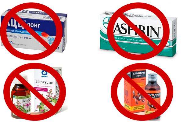 Запрещенные препараты во время беременности