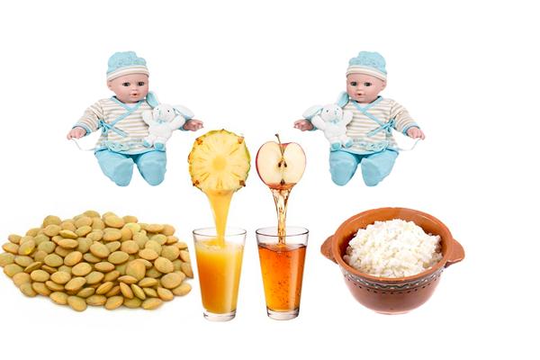 Правильное питание для получения мальчиков близнецов