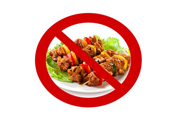 Запрет на употребления острой и соленой пищи перед анализом на пролактин