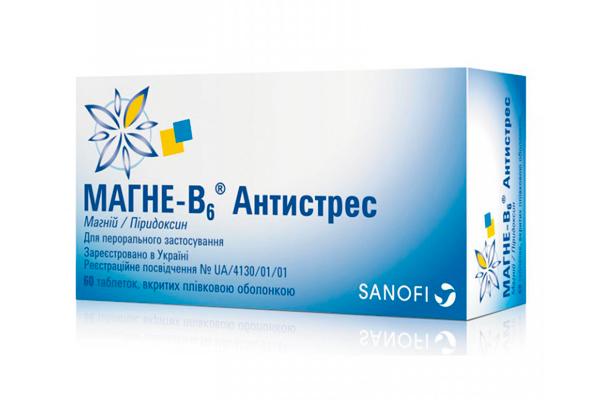 Препарат Магне-B6 для восстановления нервной системы