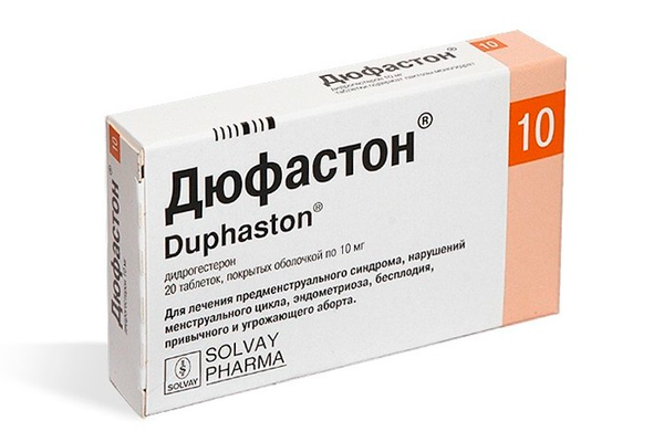 Дюфастон, для нормализации уровня прогестерона при беременности
