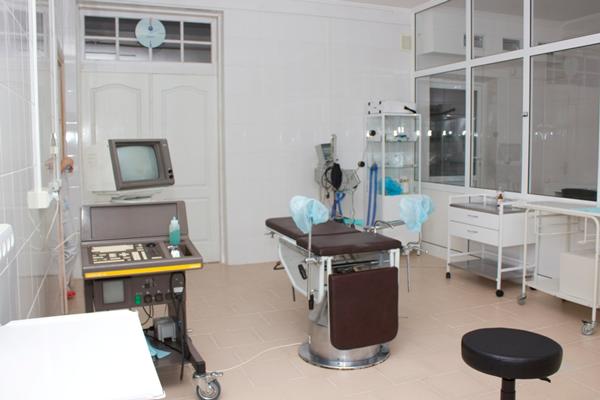 Приемная в Черновицком центре репродукции человека