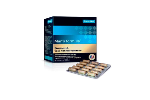 Mens Formula для улучшения качества сперматозоидов