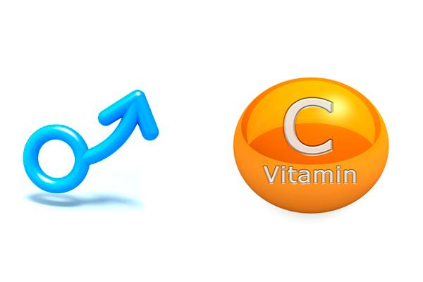 Сильная потенция от воздействия витамина C