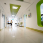 Холл в медицинском центре «Интерсоно» (Львов)