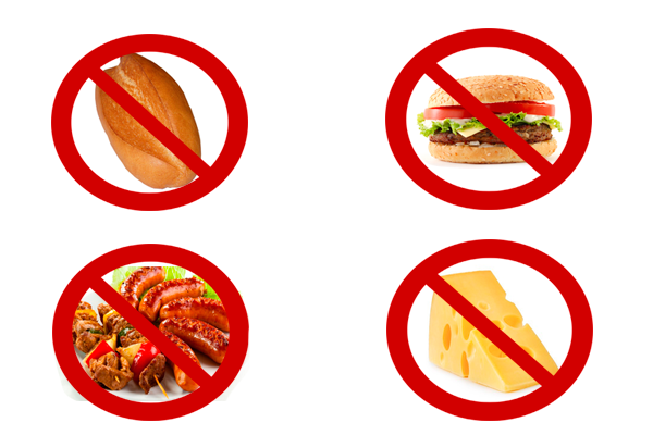 Запрет на различные продукты для предотвращения запора в период беременности
