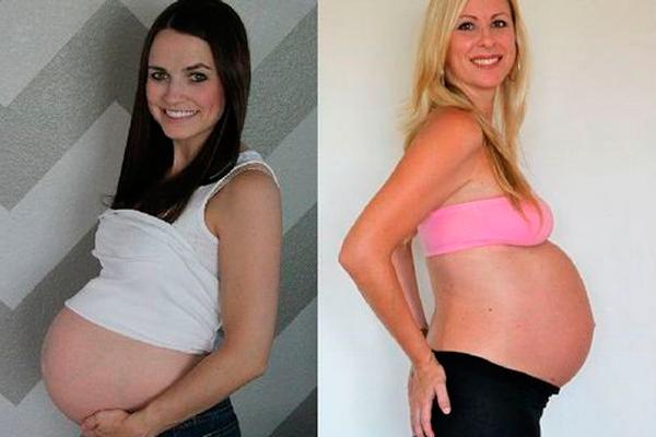 Размер живота на 32-й недели беременности