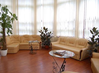 Холл в клинике репродуктивной медицины «BioTexCom» (Киев)