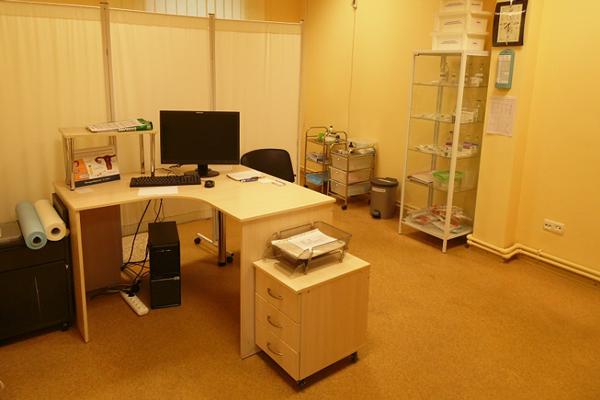 Приемная в медицинском центре доктора Николаева (Днепр)
