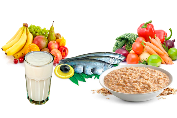 Правильное питание для устранения запора