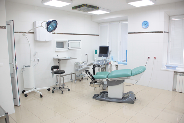 Кабинет гинеколога в Клинике «Мать и дитя» (Иркутск)