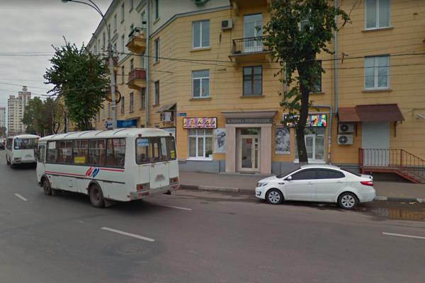 Расположение Клиники репродукции человека «Колыбель» (Воронеж)