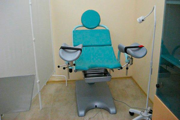 Кабинет гинеколога в клинике репродуктивной медицины «Генетис» (Тверь)