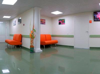 Холл в клинике репродукции «Философия жизни» (Пермь)