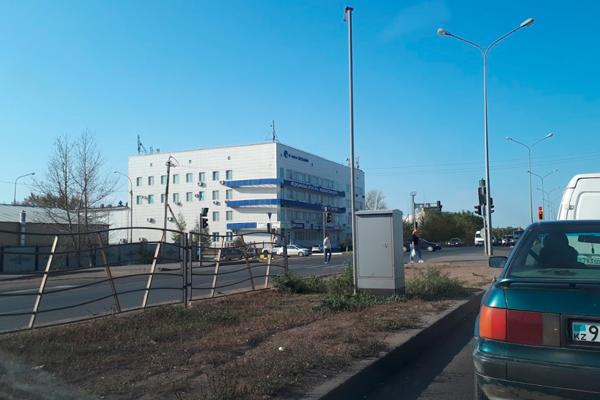 Расположение медицинского центра «Астана ЭКОЛАЙФ»
