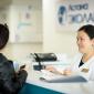 Ресепшн в медицинском центре «Астана ЭКОЛАЙФ»