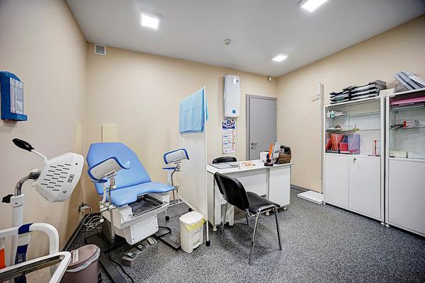 Кабинет гинеколога в клинике доктора Фомина (Тверь)