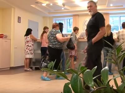Холл в Клинике доктора Парамонова (Саратов)