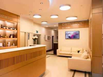Холл в Клинике Немецких Медицинских Технологий «GMT Clinic» (Москва)
