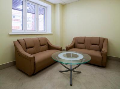 Холл в Клинике репродуктивной медицины «Здоровое наследие» (Москва)