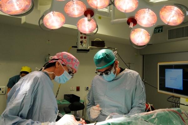 Операционная в медицинской клинике «Топ Ихилов» (Израиль)