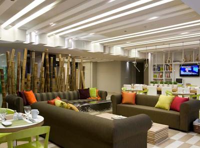 Гостиная в медицинском центре «Асаф ха-Рофэ» (Израиль)