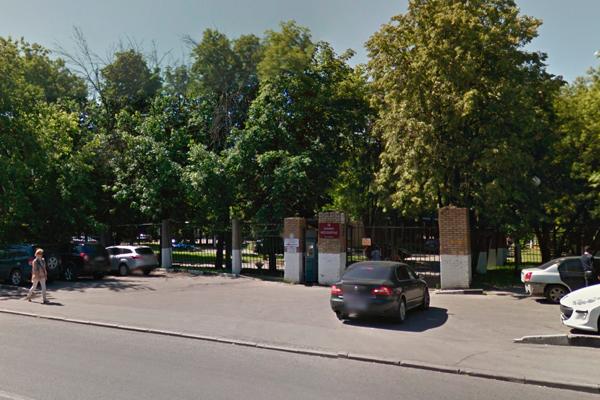 Расположение многопрофильной клиники «Москворечье»