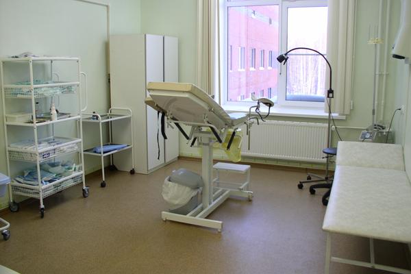 Кабинет гинеколога в Центре ЭКО и репродукции человека (Ижевск)
